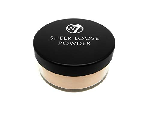 W7 | Face Powder | Sheer Loose Powder - Natural Beige | Fine Loose Powder | Perfect For All Skin Types