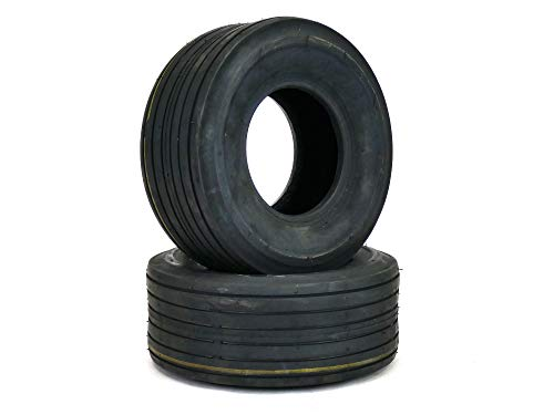 MowerPartsGroup (2) Front Tires Troy Bilt Mustang RZT 42' Front Tire 11x4.00-5 Ribbed