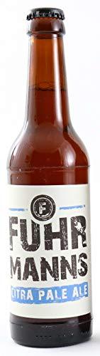 Fuhrmanns Citra Pale Ale Craftbier Alk. 5.2% vol. im Kasten 24 x 0.33 l Flaschen gebraut in der Privatbrauerei/Hausbrauerei Kärrners im Herzen von Bad Orb - kostenloser Versand-