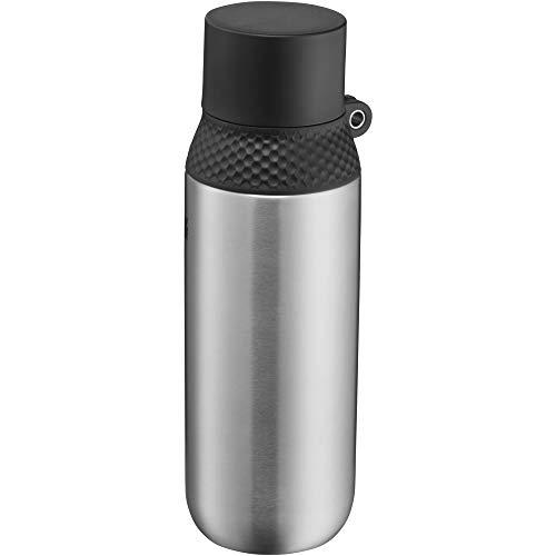 WMF Waterkant Iso2Go Trinkflasche Edelstahl 500ml, Thermosflasche, Isolierflasche, Kohlensäure geeignet, AutoClose-Verschluss, auslaufsicher, BPA-frei