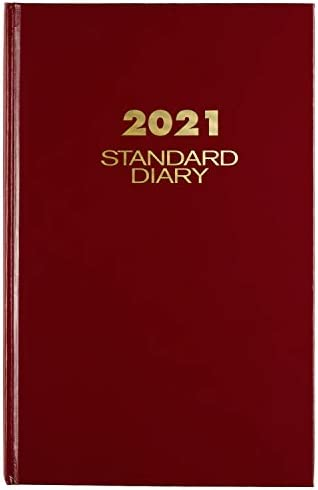 2021 Diary by AT A GLANCE Standard Daily Diary 7 3 4 x 12 Large Red SD3761321 product image