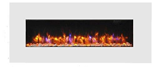 endeavour fires and fireplaces Holbeck White Wall Mounted Electric Fire
