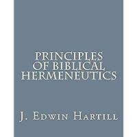 Principles of Biblical Hermeneutics【洋書】 [並行輸入品]
