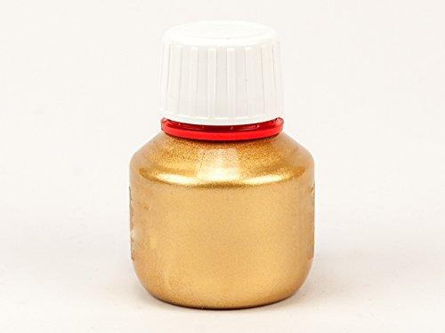 Kalligraphie Gold Tinte - Aquatinte wasserlösliche Kalligrafie-Tinte - Forum Traiani - 50ml Metallic Effekt - Mittelalterliche Schreibtinte