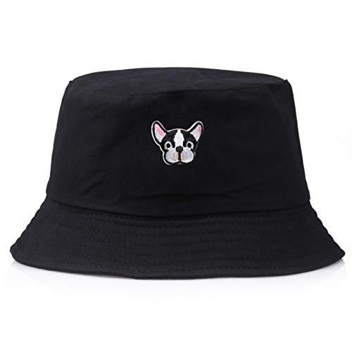 lindo cachorro verano plegable cubo sombrero para hombres mujeres gorras Panamá niños...
