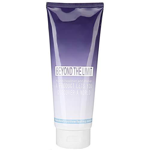 Haarbleiche, 400 ml verblasstes Haarbleichshampoo, Mild No Stimulation Haarpflege-Bleichcreme für DIY Salon Haarfärbung Bleichhaar, Haarfärbemittel