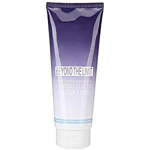 Blanqueador de cabello, 400ml Champú decolorante para cabello, Crema decolorante suave sin estimulación para el cuidado del cabello para salón de bricolaje Coloración del cabello Decoloración