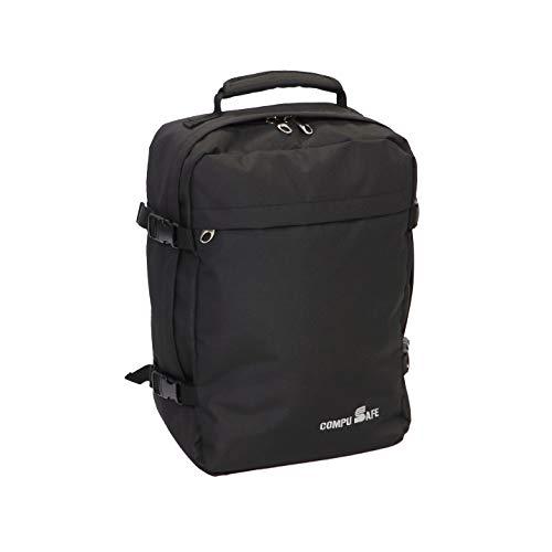 CompuSafe 100 by Skyflite Black 42x30x20cm Cabin Laptop Backpack