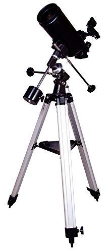 Levenhuk Skyline Plus 105 MAK Telescopio de 102mm con Diseño Óptico Maksutov-Cassegrain, Distancia Focal Larga de 1300mm y Gran Abertura