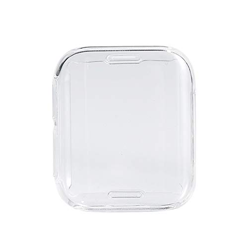 YUYAN Transparente suave TPU cobertura completa cubierta protectora para OPPO Watch 41mm 46mm Protector de pantalla transparente