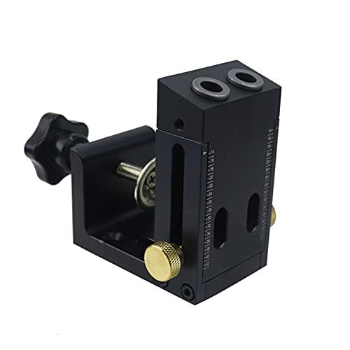 LUYIPINGQIWND Portable Trous incliné gabark Kit de jig de Poche Broche de Poche avec Gripper 9mm Foret 15 degrés Angle Trous perforateur Outils de menuiserie (Color : MGP00001 4)