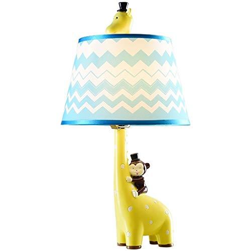 WENMENG2021 Lámpara de escritorio creativa personalidad animal lámpara de mesa dormitorio lámpara de noche hogar lámpara de mesa verde lámpara de noche lámpara de noche lámpara de noche