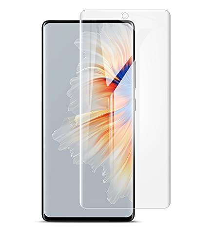 ONICOGEAR Protector Pantalla Compatible con Xiaomi Mi Mix 4 (no es vidrio templado),silicona curvado completo protector de gel para Xiaomi Mi Mix 4(2 Unidades)