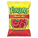 Funyuns Flamin' Hot Onion Flavored Rings 6.5oz (Pack of 3)