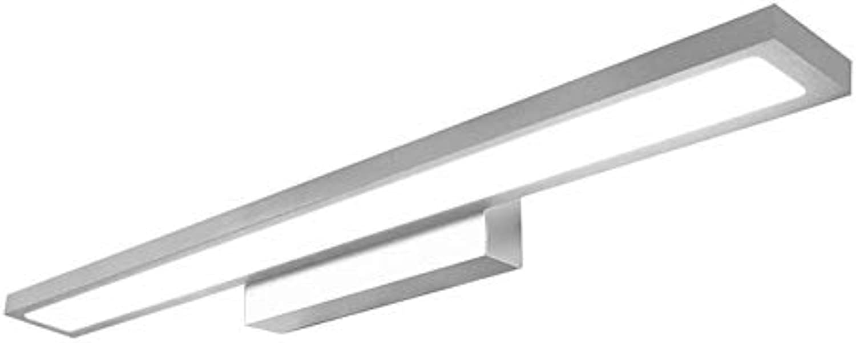 Moontang Einfaches modernes Toiletten-wasserdichter Spiegel-Scheinwerfer LED Badezimmer-Spiegel-Licht (Farbe   Weiß Light-10w40cm, Gre   -)