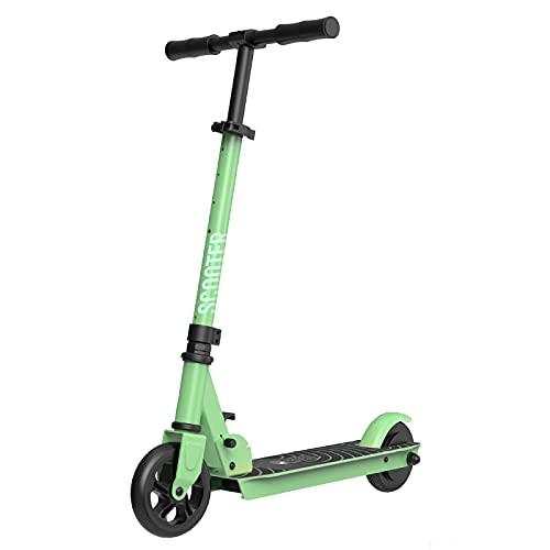 BANGNA Wheel Scooter, Patinete eléctrico, Potencia máxima de 350 W, Batería Intercambiable, with App, Ruedas Tubeless antirreventón de 8.5',Verde