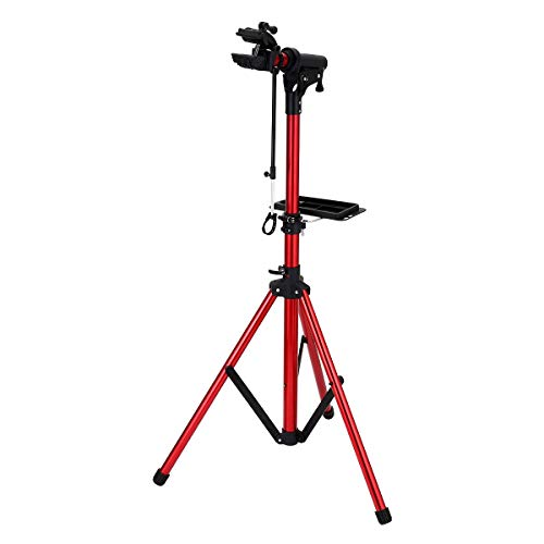 unisky Bike Repair Stand Maintenance Workstation Pro Home Shop Bicycle Repair Workstand Height Degree Adjustable Cycle Maintenance Rack