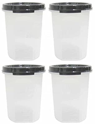 Tupperware 440ml Modular Mates Round 2 Ii Black (4) from Tupperware
