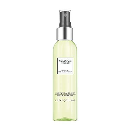 Vera Wang Embrace Body Mist Spray for Women, Green Tea & Pear Blossom, 8 Fluid Oz