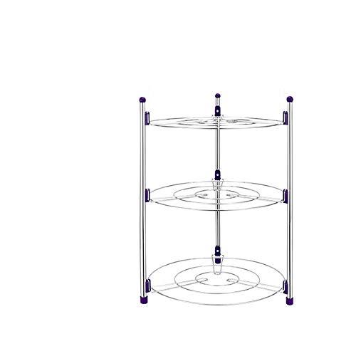 TYI Keukenkast Organizer Stand Utility Opslag Plank Keuken Opslag Rek - Rek Multi-Functioneel Voor Keuken Aanrechtblad Kast en Panterie