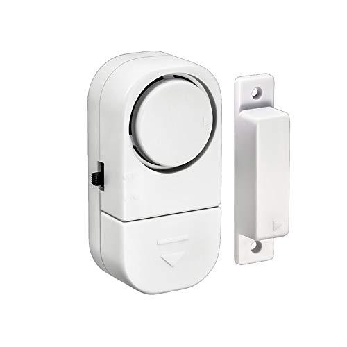 90dB Inalámbrico Ventana Puerta antirrobo Seguridad Sistema de alarma Sensor Magnético para el Sistema de Seguridad para el Hogar