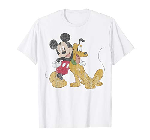 Disney Mickey And Friends Mickey And Pluto Best Buds T-Shirt