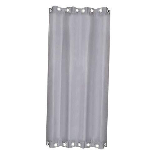 perfk Outdoor-Vorhang für terrasse wasserdichte Fenster behandlung, Grommet Blackout Thermisch isoliert halten warm im Winter & kühl im Sommer Outdoor Drape - W54 x H106 in