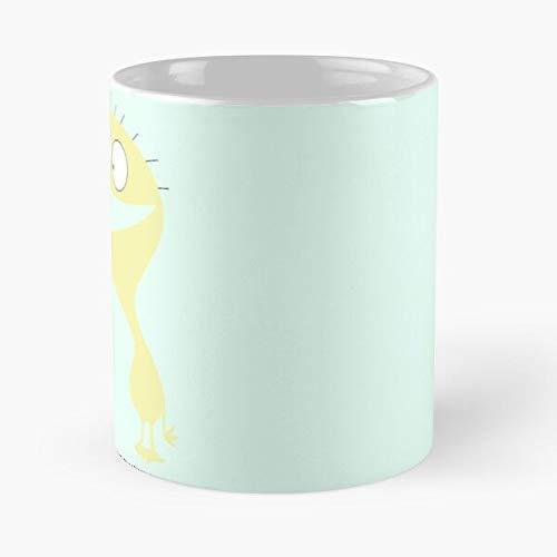 Taza de café de cerámica con texto en inglés 'Imaginary for Like Cheese I Fosters', con texto en inglés 'Friends Network'