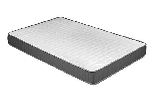 duehome - Ergonomische Matratze, Jugendmatratze, Modell Eco 13, Maße: 90 cm (Breite) x 190 cm (Länge) x 13 cm (Dicke).