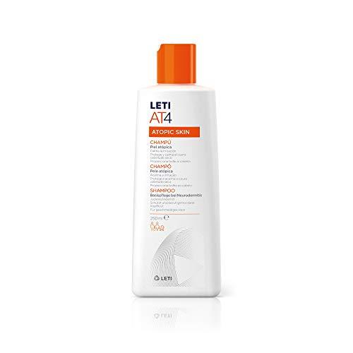 LETI AT4 - Champú piel atópica, 250 ml