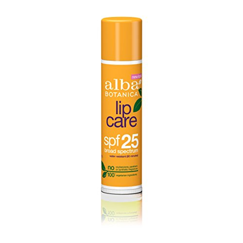 Alba Botanica Lip Care SPF 25 Sunscreen, 0.15 oz.