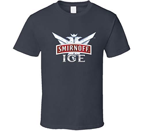 GORONYA Smirnoff Ice Likör, Whiskey, Bier, Gin, T-Shirt, Anthrazit Gr. L, beige