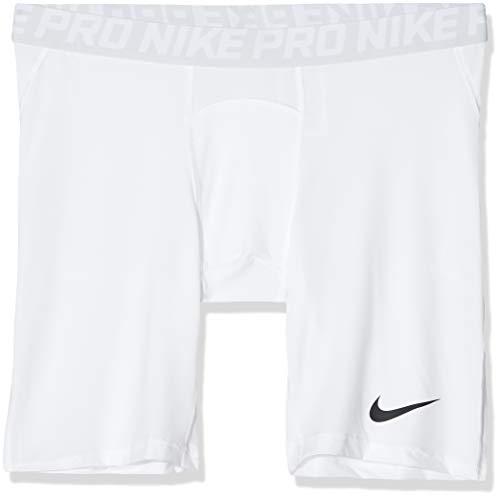 NIKE Training Pantalones Cortos, Bianco/Pure Platinum/Nero, XX-Large para Hombre