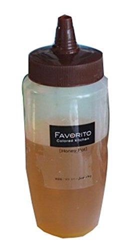Lot de 2 Burettes vinaigrette miel bouteilles Jam distributeur, 340ml