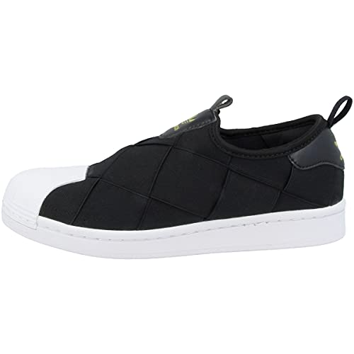 adidas Sneaker da donna Low Superstar Slip-On, Core Black Cloud White Gold Metallic Fv3187, 38 2/3 EU
