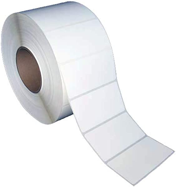 4x2 Inch Direct Thermal Paper Labels White Rolls 8 OD 3 Core 3000 Labels Per Roll 4 Rolls Per Box 1 Box For Zebra And Other Thermal Barcode Label Printers L DT 40201P