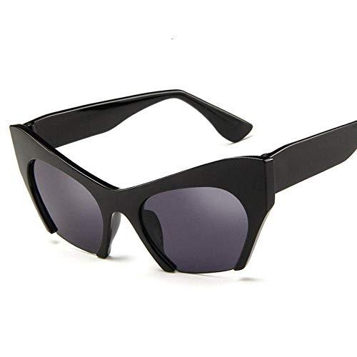 FJCY Gafas de Sol Personalizadas, Cejas Grandes, Gafas de Sol Tipo Ojo de Gato, Gafas de Tendencia Coloridas, Sol Caliente transfronterizo-Bj5190-C3
