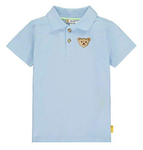 Steiff Jungen Poloshirt, Blau (Kentucky Blue 6020), (Herstellergröße: 110)