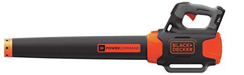 Black & Decker GWC54PC Accu-blazer, bladblazer met powercommand, 195 km/u blaassnelheid - inclusief dual-volt accu en snellader zonder accu + oplader. zwart, oranje
