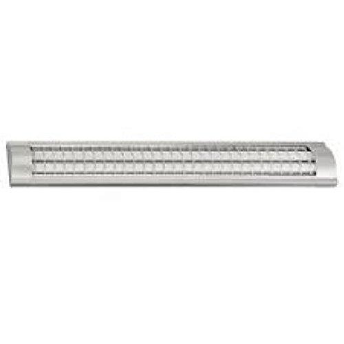 Briloner 6436-364 Unterbauleuchte Energiesparlampe 2x 36W T8 Silber inkl. Leuchtmittel