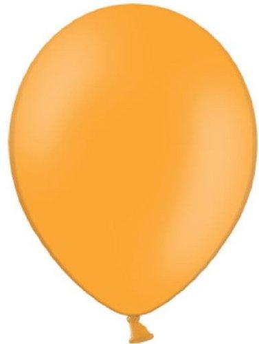 Belbal 25 Luftballons orange Qualitätsballons Ø ca. 27cm B85 (Standardgröße)