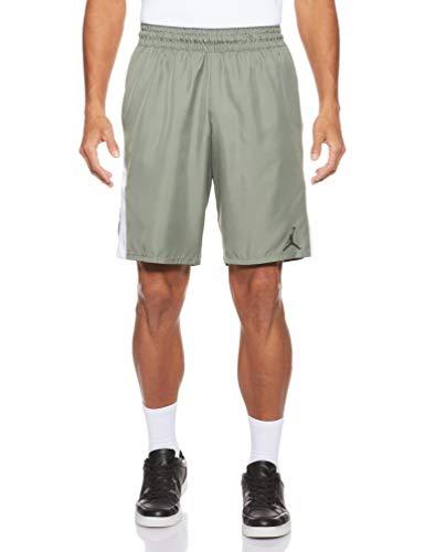 Nike 23 Alpha Dry Graphic Short Shorts de Baloncesto, Hombre, Vintage Lichen/White/Black/bla, L