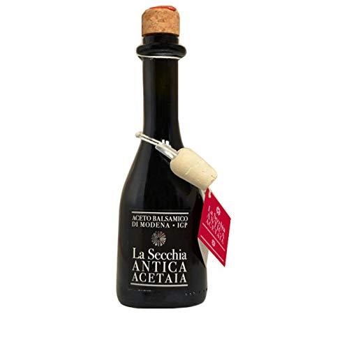 La Secchia - Aceto Balsamico di Modena IGP 'Una Stella'. Affinato in Rovere - Bottiglia 250 ml con...