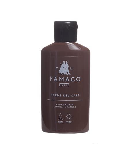 Famaco - Ledermilch - Famaco Crème Délicate Ledermilch 125 ml (Mittelbraun)
