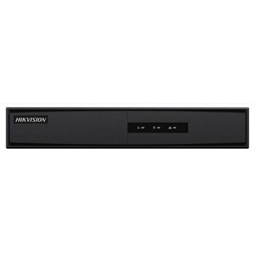 Hikvision Digital Technology DS-7604NI-K1 1U Nero Videoregistratore di rete (NVR)