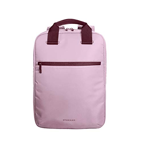 Tucano-Zaino Colorato Porta Pc per Computer da 13, 14 Pollici. Tasche Interne Imbottite per Laptop, MacBook, iPad e Tablet. Backpack Lux è Uno Zaino da Ufficio e da università, da Donna e da Uomo