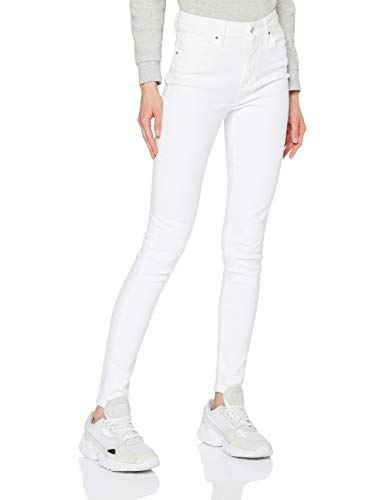 Levi's 721 High Rise Skinny Jeans, Western White, 25W / 30L para Mujer