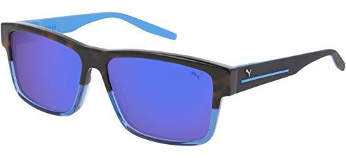 Sunglasses Puma PU 0267 S- 004 Havana/Blue Black