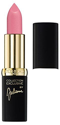 L'Oreal Paris Lippen Make-up Color Riche Collection Exclusive, N°22 Julianne's Rosé / matter Lippenstift für eleganten, jungen Look, 1er Pack
