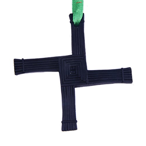 Liffey Artefacts Celtic Turf Collection Handcrafted St. Brigid's Cross Designed Hanging Decoration